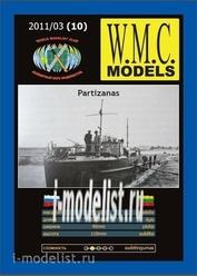 WMC-10 W.M.C. Models 1/100 Partizanas