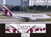 310-005 Ascensio 1/144 Декаль на самолет Arbus A310-300 (Qatr)