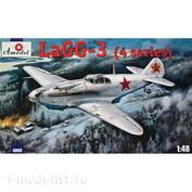 4809 Amodel 1/48 Самолет ЛаГГ-3 тип 4