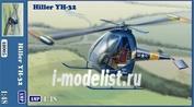 48005 AMP 1/48 Helicopter Hiller YH-32 Hornet