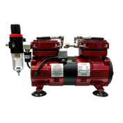 1225 JAS Компрессор 1225, с регулятором давления, автоматика, два режима работы, два цилиндра