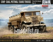 35163 Mirror-models 1/35 CMP Chevy C60L Petrol Tank Truck 3 ton 4x4 chassis
