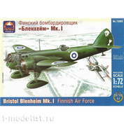 72003 ARK-Models 1/72 Финский бомбардировщик