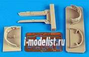 2140 Aires 1/32 Набор дополнений MiG-23 Flogger canopy frame with blind