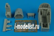 4502 Aires 1/48 Набор дополнений A-7E Corsair II cockpit set - (early version)