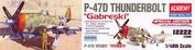 12222 Academy 1/48 P-47D Thunderbolt