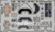 FE567 Eduard 1/48 Color photo etched parts for the Ta 152 interior S. A.