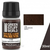 1766 Green Stuff World Сухой пигмент цвет