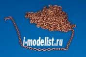 134 01 RB Model Brass chain, L=1,45 D=1