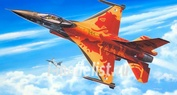 03980 Revell 1/72 Lockheed Martin F-16 Mlu Solo Display