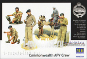3564 МasterBox Tankers 1/35 British Commonwealth Wwii