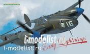1174 Edward 1/48 P-38F/ G/H - Early Lightnings