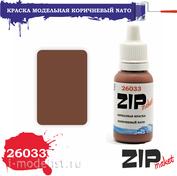 26033 ZIPMaket Paint NATO BROWN model