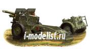 35046 Bronco 1/35 Qf 25pdr Field Gun w/No-27 Ammunition Limber(Trailer)