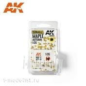 AK8103 AK Interactive 1/35 Осенние листья клёна
