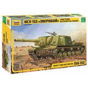 3532-1 Zvezda 1/35 self-propelled gun ISU-152 + the set of colours
