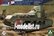 2025 Takom 1/35 WWI Medium Tank Mk A Whippet