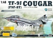KH80129 Kitty Hawk 1/48 TF-9J (F9F-8T) Cougar