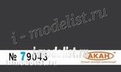 79043 Акан Старая резина темно-серая (выцветшая)