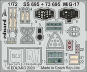 SS695 Eduard 1/72 Фототравление для МuГ-17