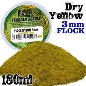 10016 Green Stuff World Сухая желтая трава, 3 мм - 180 мл. / Static Grass Flock 3 mm - Dry Yellow - 180 ml