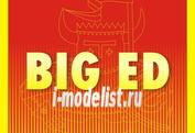 BIG49114 Eduard 1/48 Полный набор фототравления для S-30M-2 FLANKER