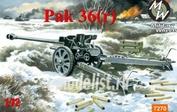 7270 MilitaryWheels 1/72 76-mm antitank gun Pak-36(r)