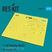 RSM72-0001 Reskit 1/72 Окрасочная маска для С-130