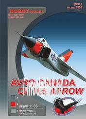 0104 Hobby Model 1/33 Avro Canada CF-105 Arrow (Reprint)