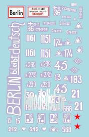 72018 ColibriDecals 1/72 Декаль для Battle for Berlin 45 - whinte band
