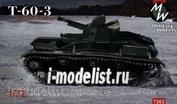 7263 MilitaryWheels 1/72 Советский легкий танк Т-60-3