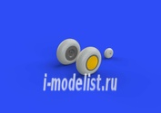 632080 Eduard 1/32 Дополнение для P-40 wheels w/ pattern