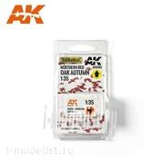 AK8106 AK Interactive 1/35 Осенние листья северного красного дуба