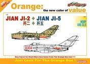 2517 Dragon 1/72 Jian Ji-2 + Jian Ji-5