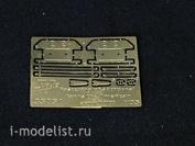 35051 Vmodels 1/35 Фототравление Крепление дополнительных канистр (Армия США, IIМВ), 2 шт.