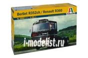 3902 Italeri 1/24 Грузовик Berliet R352ch / Renault R360
