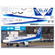 320-41 PasDecals 1/144 Decal for 320 NEO ANA