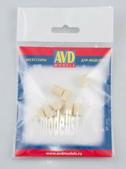 AVD143009010 AVD Models 1/43 Бочка деревянная 50л, 10 шт.