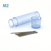 42556 JAS Mini drill HSS 6542 (M2) titanium coated d 0.35 mm 10 pcs.