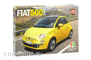 3647 Italeri 1/24 Автомобиль FIAT 500 (2007)