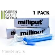 1021 Green Stuff World Эпоксидный пластик для моделирования, цвет Белый / Milliput Super Fine White