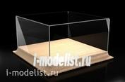 MSD202010 Короб пылезащитный для моделей на деревянном основании 200*200*100