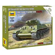 6101 Звезда 1/100 Советский средний танк Т-34/76 образца 1940 г. (Для игры