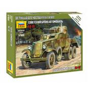 6149 Zvezda 1/100 Soviet armored car BA-10 (For the game