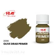 C2008 ICM Primer, Olive color (Olive Drab) 17 ml