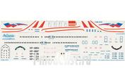 738-015 Ascensio 1/144 Декаль на самолет боенг 737-800 (Арофлот Росийские Авиалинии)