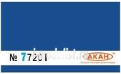 77201 Акан Краска акриловая Синий. Камуфляжные пятна на верхних и боковых поверхностях самолета Су-27 ВВС Украины