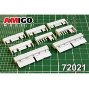 AMG72021 Amigo Models 1/72 Закрылки самолёта Суххой-25, Суххой-39