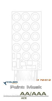 M72012 ColibriDecals 1/72 Маска для ГАC-АА/ААА (ACE)