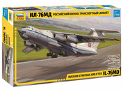7011 Zvezda 1/144 Military transport aircraft Il-76MD